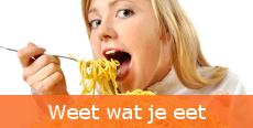 Weet wat je eet! De calorie wijzer van Wijvallenaf.nl